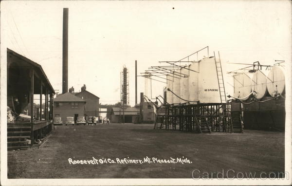 Roosevelt Oil Co. Mount Pleasant Michigan