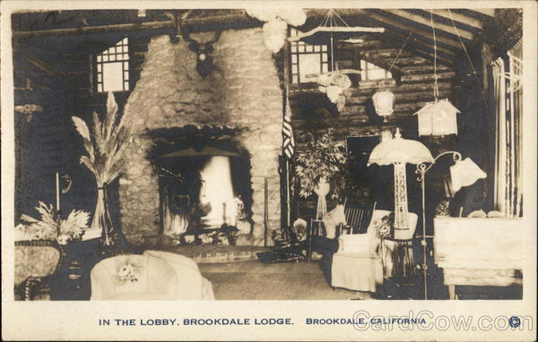 In the Lobby, Brookdale Lodge California