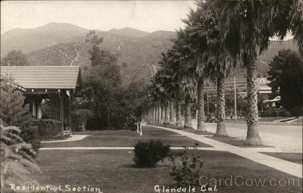 Residential Section Glendale California