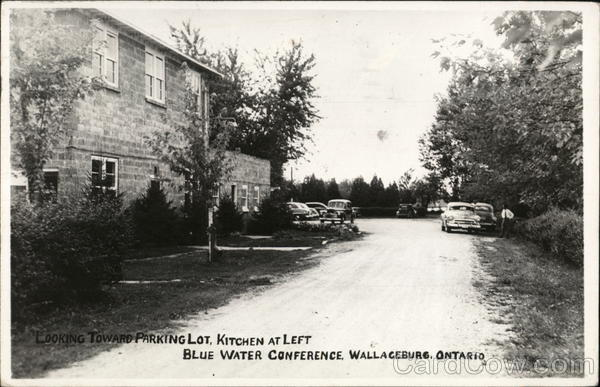 Blue Water Conference, Looking Toward Parking Lot Wallaceburg Canada