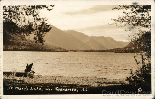 St. Mary's Lake Cranbrook Canada British Columbia