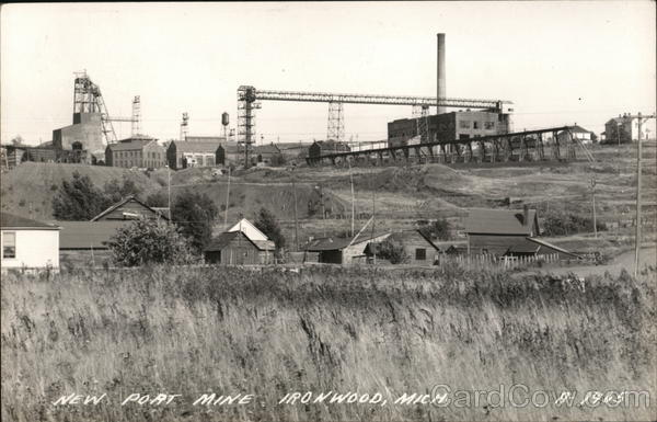 New Port Mine Ironwood Michigan