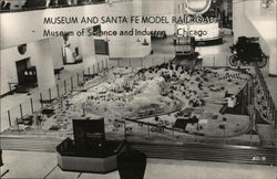 Museum and Santa Fe Model Railroad, Museum of Science and Industry