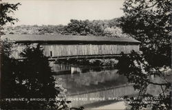 Perrine's Bridge - Oldest Covered Bridge