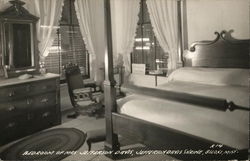 Bedroom of Mrs. Jefferson Davis