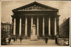 The Royal Exchange Postcard
