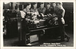 Chanute Field Machine Shop Department, ACTS