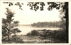 School Lake from Indian Hill