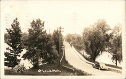 Rural Road Postcard