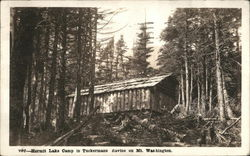 Hermit Lake Camp in Tuckerman Ravine on Mt. Washington