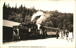 Streamlined Train on MT. Washington COG R.R.