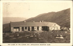Lakes of the clouds Hut. Appalachian Mountain Club
