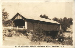 Westport Bridge, Ashuelot River, Swanzey N.H.