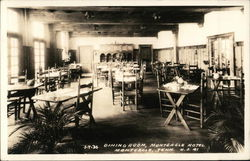 Dining Room, Monteagle Hotel