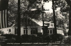 Dining Room Methodist Camp Grounds Postcard