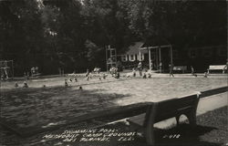 Methodist Camp Grounds - Swimming Pool Postcard