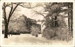 Iowa State College - Winter Scene