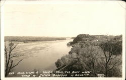 The Mississippi River Taken From the Bluff
