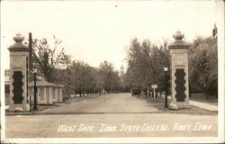 Iowa State COllege - West Gate