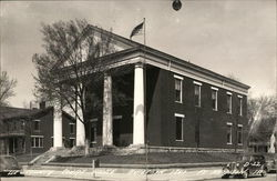 Lee County Court House Postcard