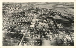 Air View Univeristy Campus, Vermillion, S.D. 1948