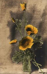 Bouquet of California Poppies