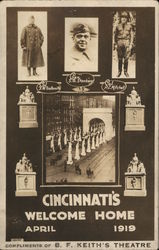Cincinnati's Welcome Home April 1919 (Soldiers from WWI)
