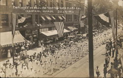 Employee's of Kellogg Toasted Corn Flake Co., Industrial Parade - July, 4, 1911