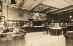 Tom Mack Buffet - Interior View - Circa 1914