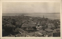View from the Light House, Atlantic City, NJ - 1911