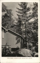 Men's Cabins, Fairview Island, Lake of Bays, Ontario