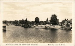 Muskoka River At Baysville Muskoka (Photo by Annabelle Studios)