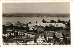 Annie Wright Seminary over looking Puget Sound at Tacoma, Wash.