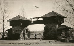 Main Entrance - Fort Lewis - Washington
