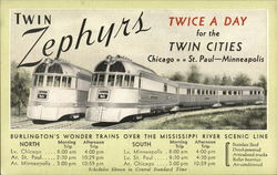 Twin Zephyrs Chicago->St. Paul-Minneapolis