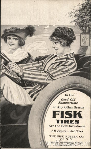 Fisk Tires - Fisk Rubber Company of New York Syracuse
