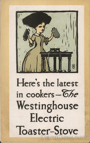 Westinghouse Home Appliances Mansfield Ohio Advertising