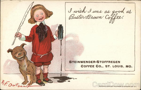 Steinwender-Stoffregen Coffee Co. - Buster Brown Coffee St. Louis Missouri