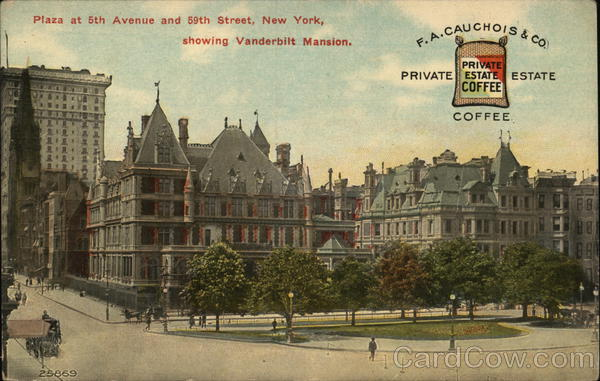 F. A. Cauchois and Company New York Advertising Coffee & Tea