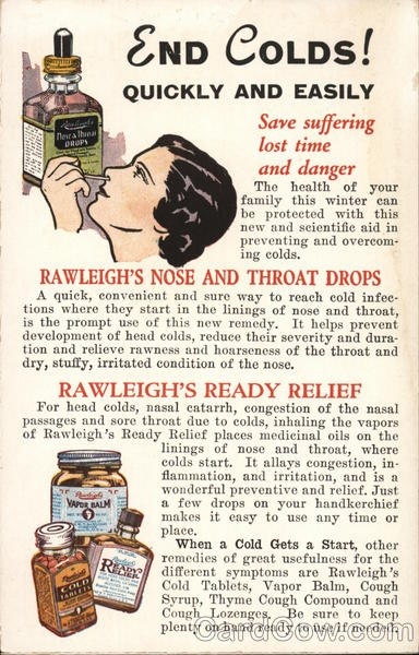 W. T. Rawleigh Company Freeport Illinois Advertising