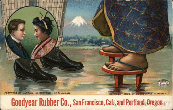 Woonsocket Rubber Co. Shoes San Francisco California
