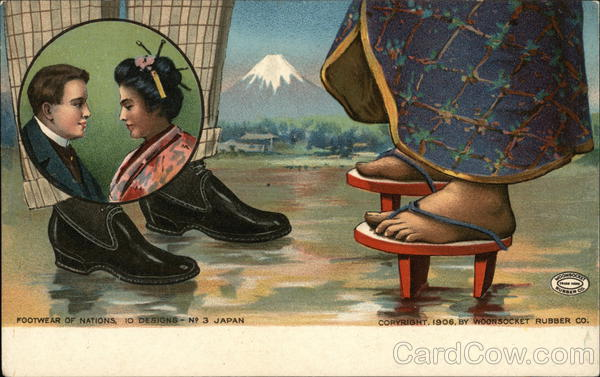 Woonsocket Rubber Company - Japan Rhode Island Advertising