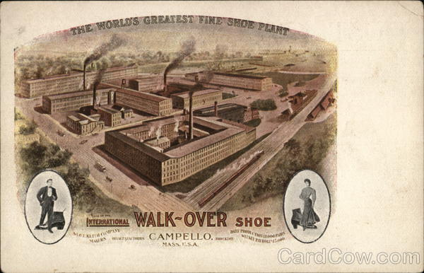 Walk-Over Shoe Campello Massachusetts Advertising