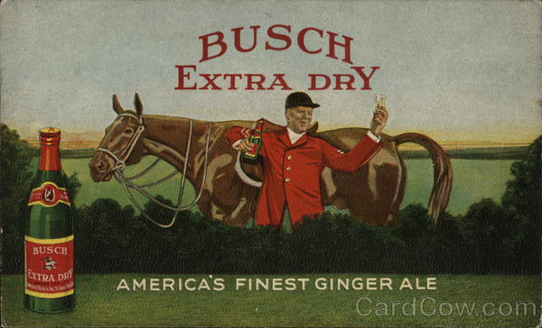 Busch Extra Dry Ginger Ale St. Louis Missouri Advertising