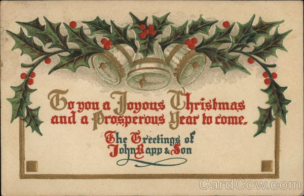 Christmas Greetings Advertising