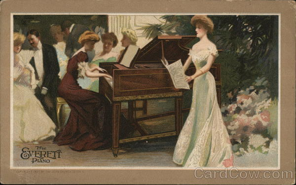 The Everett Piano Advertising Music and Literature