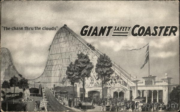 Giant Safety Coaster Chicago Illinois Advertising
