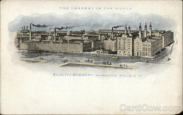 Schlitz Brewing Company Milwaukee Wisconsin Advertising
