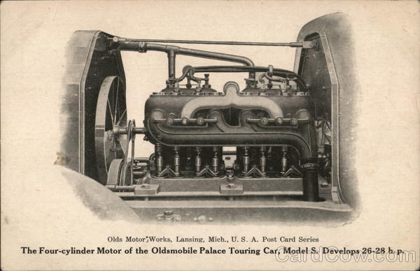 Olds Motor Works - Oldsmobile Engine Lansing Michigan
