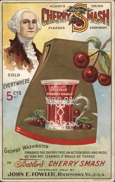 Rare Fowler's Cherry Smash Richmond Virginia Advertising